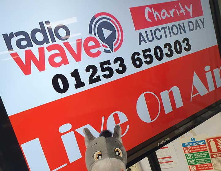 Radio Wave Charity Auction Day & Rocco