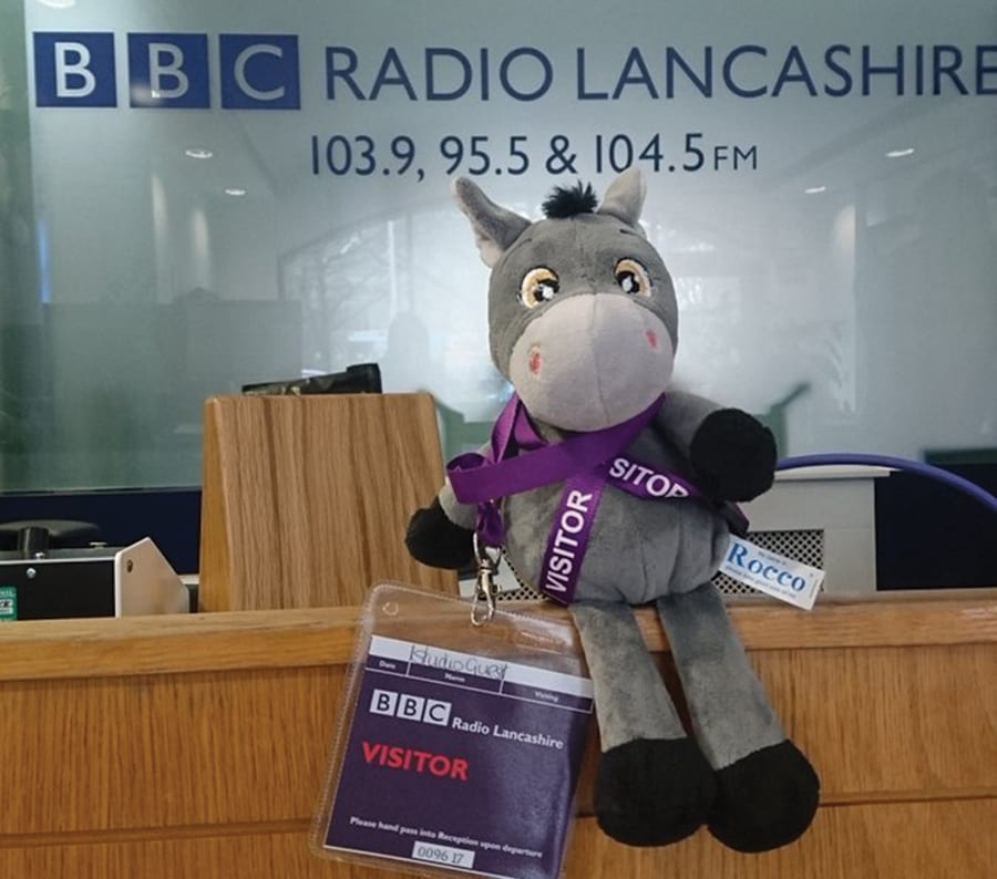 Rocco at Radio Lancashire