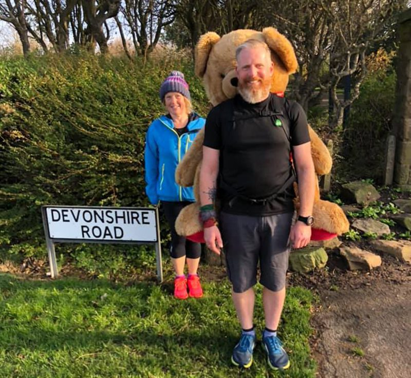 Paul and Ted on Devonshire Road